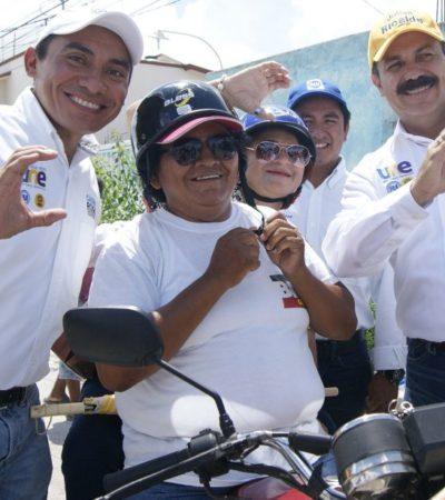 """""""Crearé un fondo de mantenimiento escolar con sueldos de altos funcionarios"""", asegura Julián Ricalde"""