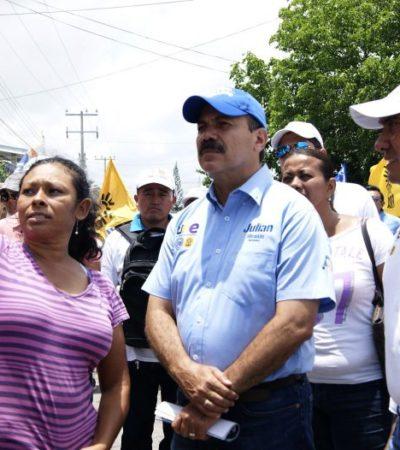 Plantea Julián Ricalde empleos y atención especializada para personas vulnerables