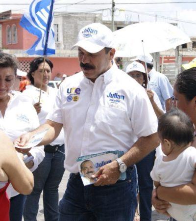 Tendré un gobierno abierto y transparente, asegura Julián Ricalde en la Región 95