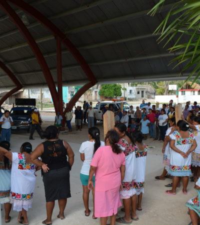 Arranca Domingo Flota la segunda etapa de su campaña con visita a Sacalaca y Sabán