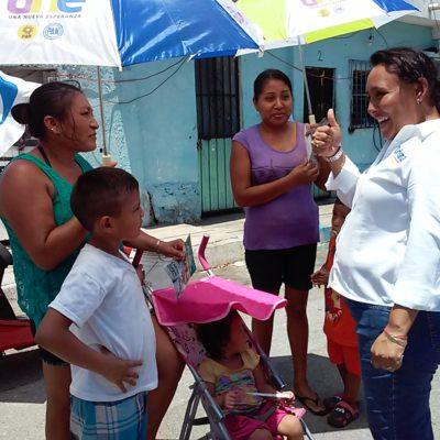 Le apuesta Cristina Torres a reactivar la economía para abatir la pobreza