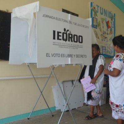 Habitantes de San Silverio y Yalchén votarán solo por la gubernatura