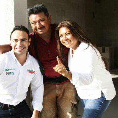 """""""Trabajaré para darle a los tulumenses una vida de calidad"""", dice Carlos Toledo"""