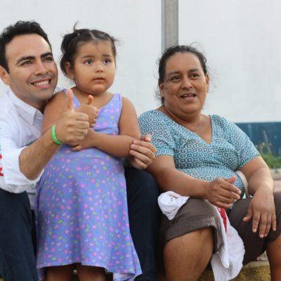 Pide Carlos Toledo dar un 'voto de confianza' a los candidatos de la alianza PRI-PVEM-Panal en Tulum
