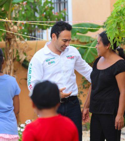 Plantea Carlos Toledo impulsar más oportunidades de empleo para personas mayores de 40 años