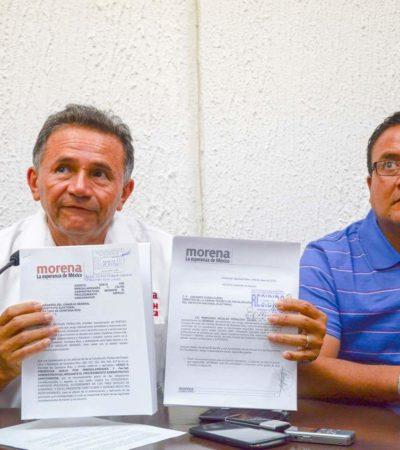 Dice Morena que propaganda excesiva de su candidato Pech Várguez no es suya y pide al Ieqroo investigar