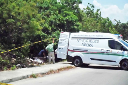 Confirma necropsia que ensabanado hallado en Cancún murió de múltiples puñaladas