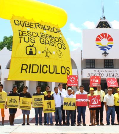 Plantea Javier Vite desde el Congreso impulsar auditoría al gasto público y eliminar el derroche del Gobierno de QR