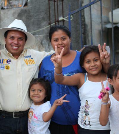 Convoca Javier Vite a madres de familia a ser partícipes en la alternancia que requiere Quintana Roo