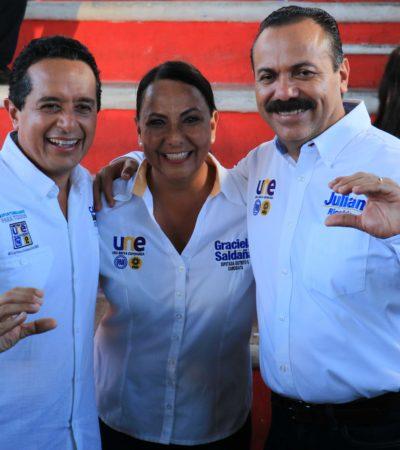 Llama Graciela Saldaña a los ciudadanos a ejercer su derecho a votar el próximo 5 de junio