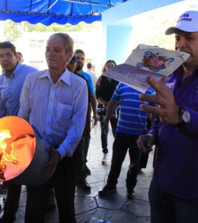 EL PROMETER NO EMPOBRECE: Como Alcalde nunca lo hizo, pero ahora Greg Sánchez clausura Aguakán