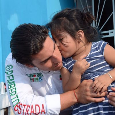 Ofrece Remberto Estrada escuelas dignas y de calidad para que los niños y jóvenes de Cancún