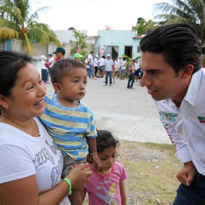 Asegura Remberto Estrada que procurará el bienestar de la mujer con programas sociales y de unión familiar