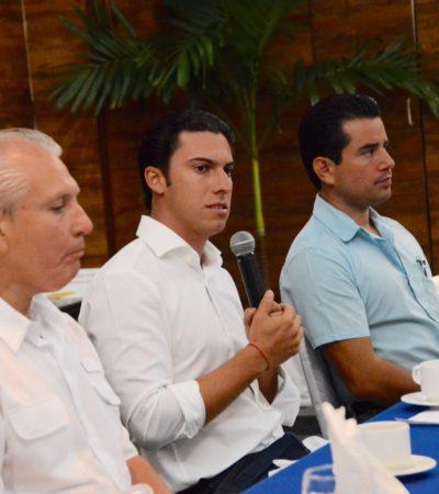 """""""Reforzaré la marca Cancún para seguir siendo líder internacional"""", dice Remberto Estrada"""