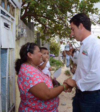 Dice Remberto que la seguridad en Benito Juárez será su prioridad