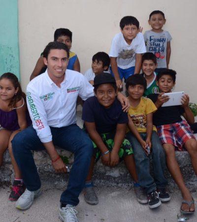 Contacto ciudadano es fundamental para mí: Remberto Estrada Barba