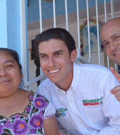 Asegura Remberto Estrada que promoverá actividades familiares para lo que llama un 'Cancún de 10'