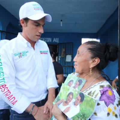 """Dice Remberto Estrada que dará """"apoyo firme"""" para jefas de familia"""