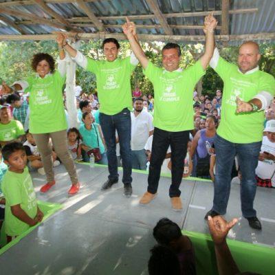 """Dice Remberto Estrada que con """"suma de voluntades y unidad"""" esperan triunfar de forma """"contundente"""" en las urnas"""