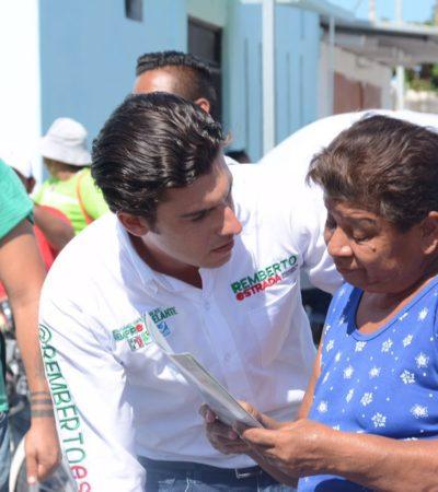 """""""Será fundamental participación de legisladores para Benito Juárez"""", dice Remberto Estrada"""