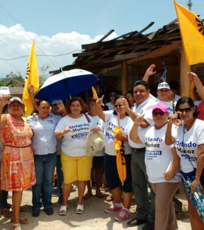 Se dignificarán los servicios básicos en Puerto Aventuras: Orlando Muñoz