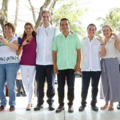 """""""NI CON TODO EL PARQUE JURÁSICO GANAN"""": Descalifica Basave actitud porril de Félix González; """"Quintana Roo quiere un cambio, no un salto al vacío"""", dice"""