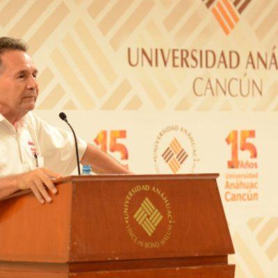 PECH EN  LA ANÁHUAC: Dice candidato de Morena que se deben terminar las privatizaciones entre compadres