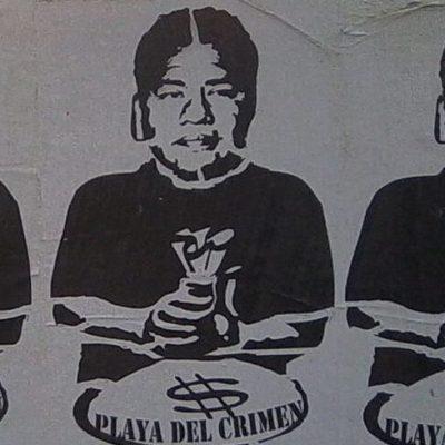 SE DESATA 'CAMPAÑA NEGRA' EN PLAYA: En disputa por la Alcaldía, pegan carteles contra Filiberto Martínez y lanzan ataques en internet contra Cristina Torres