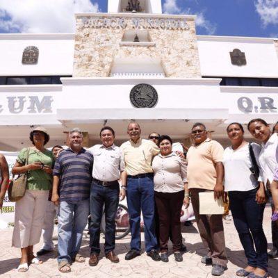 Se suma Jorge Portilla y el senador Daniel Ávila a la red de denuncia ciudadana de Tulum
