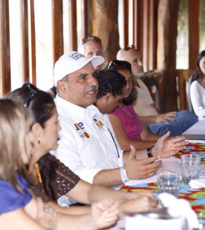 Propone Jorge Portilla crear una contraloría ciudadana en Tulum