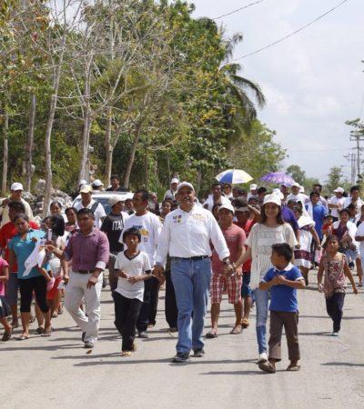 """Basta del abandono a la Zona Maya"": Jorge Portilla Manica"