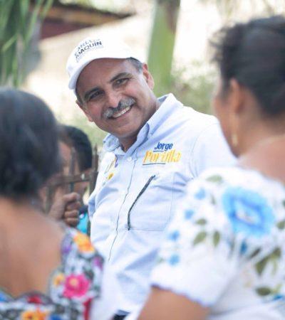 """""""Únicamente el voto garantizará el cambio"""": Jorge Portilla"""