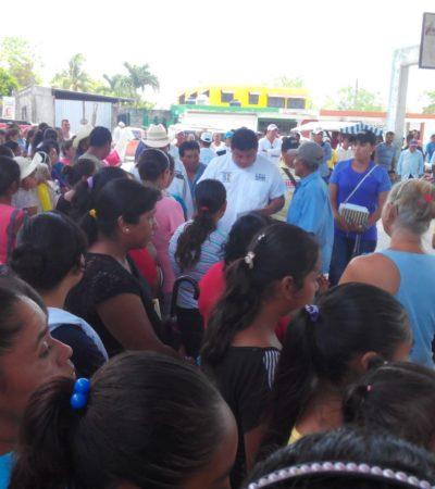 Proyecto único de gran visión para desarrollar OPB y sus comunidades, propone Luis Torres