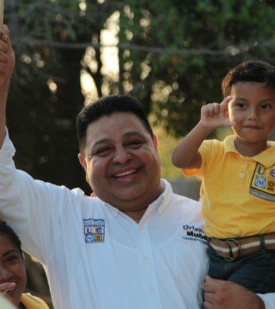 """""""Quintana Roo merece un gobierno honesto"""": Orlando Muñoz"""