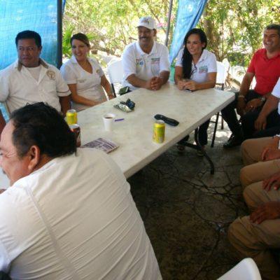 Promete Laura Fernández impulsar la capacitación del trabajador turístico en Puerto Morelos