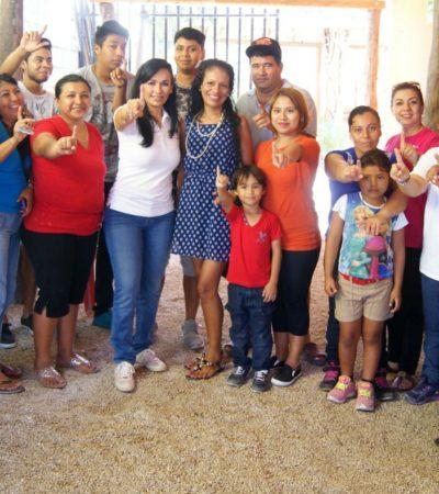 """""""En Puerto Morelos, la delincuencia no tiene cabida"""", dice Laura Fernández"""