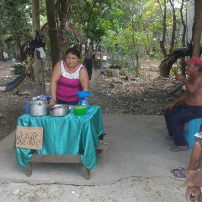 Recorre Leona Vicario el candidato independiente de Puerto Morelos