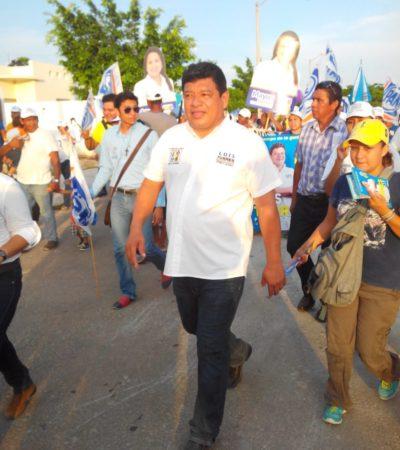 La fuerza de la gente mueve el cambio en Quintana Roo y ya es irreversible, dice Luis Torres en Chetumal