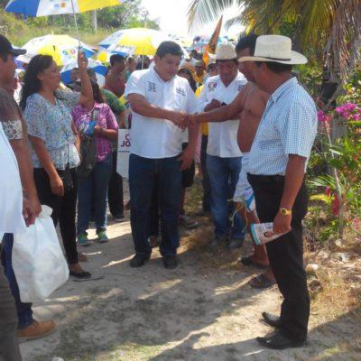 Impulsar la agricultura en la Ribera del río Hondo ayudará a sacar del estancamiento a la zona sur, asegura Luis Torres