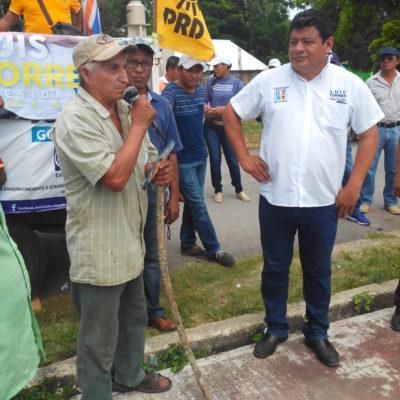 Asegura Luis Torres que con el gobierno del cambio se podrá garantiza atención a la salud para todos