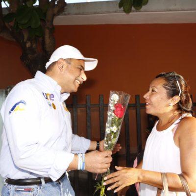 Llama Jorge Portilla a salir a votar para construir juntos el futuro de Tulum