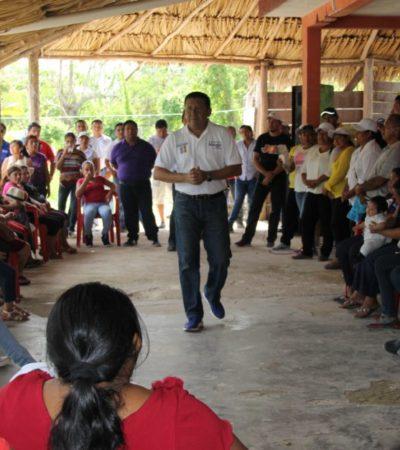 Apela Manuel García Sala a las tradiciones para conservar la identidad en Puerto Morelos