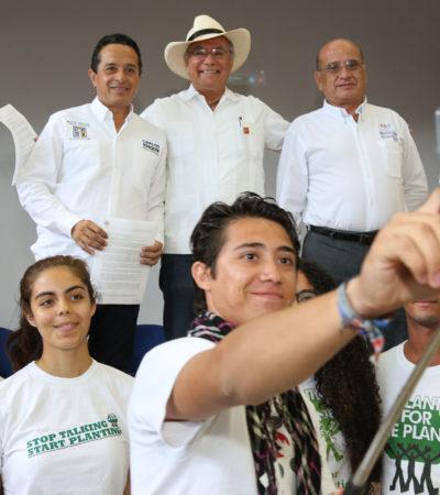 Exponer las plataformas electorales, fundamental para la  decisión de la sociedad el próximo 5 de junio: Carlos Joaquín