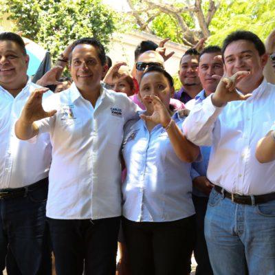 """""""VENGO A APOYAR CON TODO"""": Senador yucateco Daniel Ávila respalda a Carlos Joaquín; """"ya se le fue de las manos la gubernatura a Félix González"""", dice"""