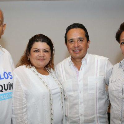 """""""HAY QUE BUSCAR EL VOTO ÚTIL"""": Se suman ciudadanos al gobierno del cambio con Carlos Joaquín"""