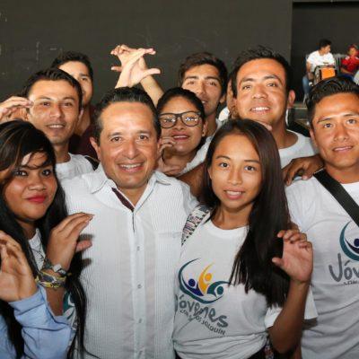 Garantiza alternancia oportunidades para los jóvenes: Carlos Joaquín