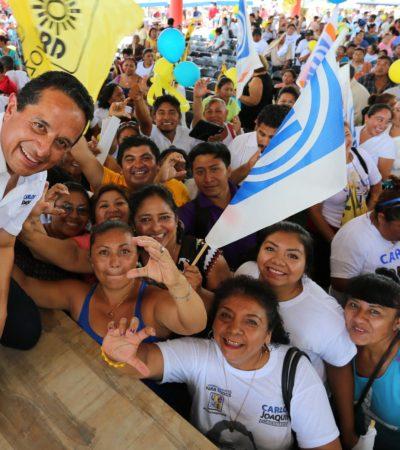 Ofrece Carlos Joaquín nuevas oportunidades para las comunidades mayas