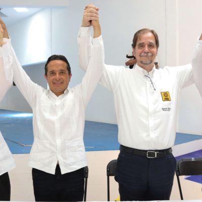"""""""Con Carlos Joaquín se acabará el gobierno corrupto e inepto"""", dice Agustín Basave"""