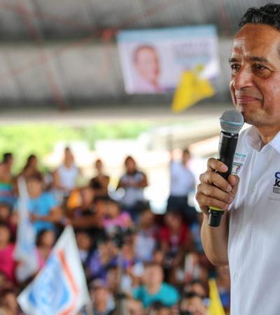 """""""Hoy más que nunca el PRI tiene miedo porque sabe que va a perder"""": Carlos Joaquín"""