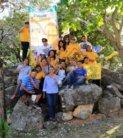 El tema ambiental será prioridad de la agenda legislativa: Graciela Saldaña